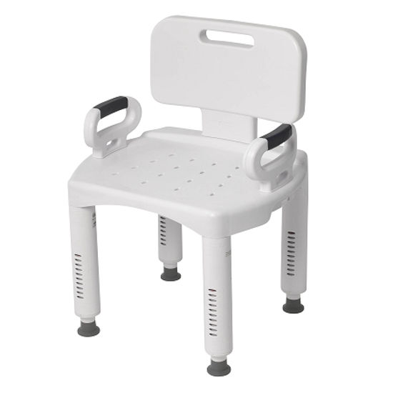 Picture of Drive Premium Series Shower Chair with Back and Arms
