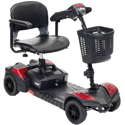 Picture of Scout Compact Travel Power Scooter, 4 Wheel