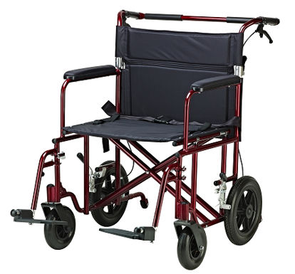 "Picture of Drive 22"" Bariatric Aluminum Transport Chair"