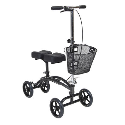 Picture of Drive Dual Pad Steerable Knee Walker  with Basket
