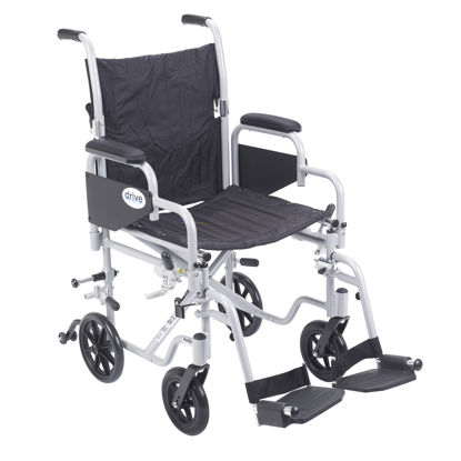 Picture of Drive Poly-Fly Lightweight Wheelchair/Transport Chair Combo
