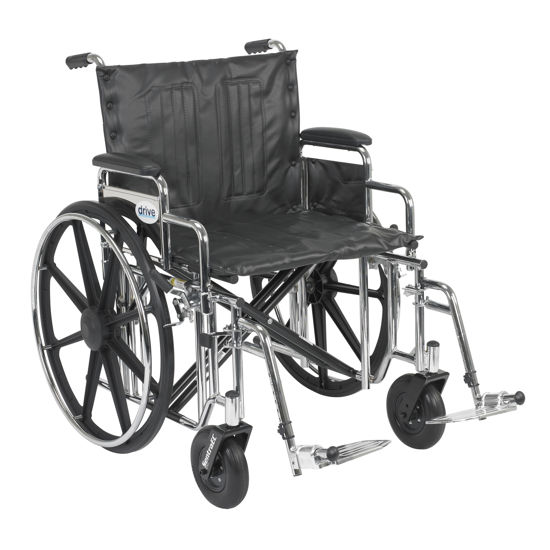 Picture of Drive Sentra Bariatric Extra Heavy Duty Wheelchair