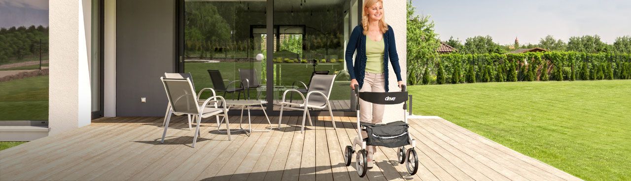 Walking Aid Rental - Rollator and Walkers